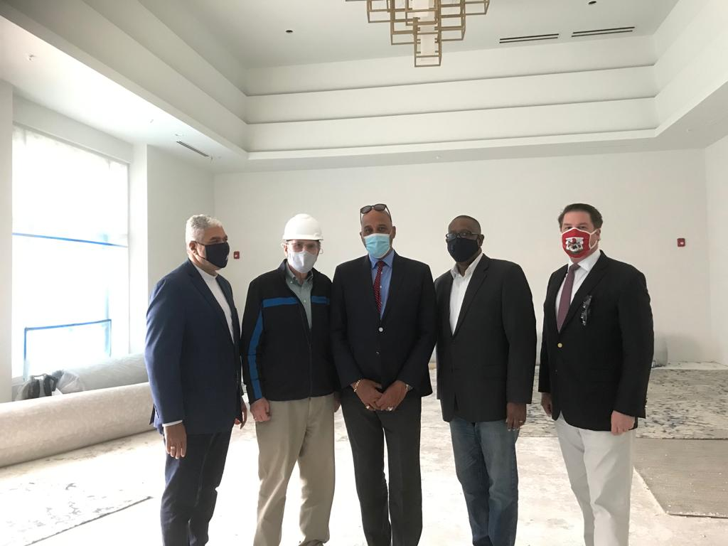 OBA commends owners of The Hotel Co and St Regis for their continued belief in Bermuda